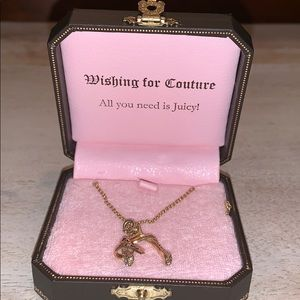 Juicy Couture Wishbone Necklace